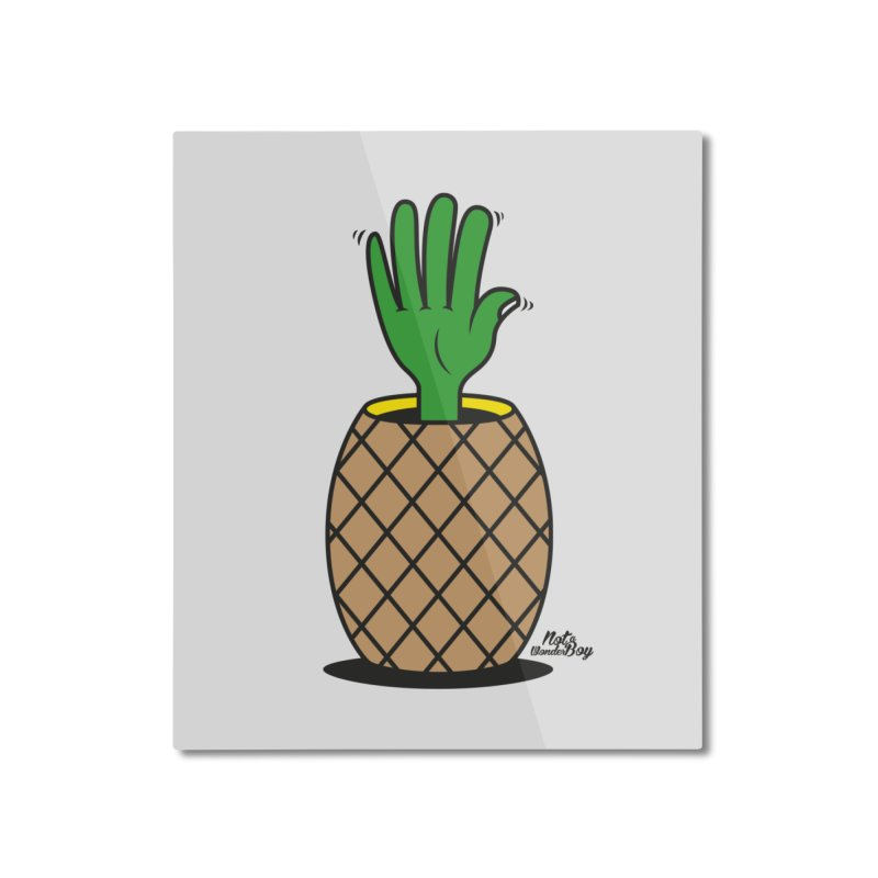 ANANAS Home Mounted Aluminum Print by Notawonderboy!