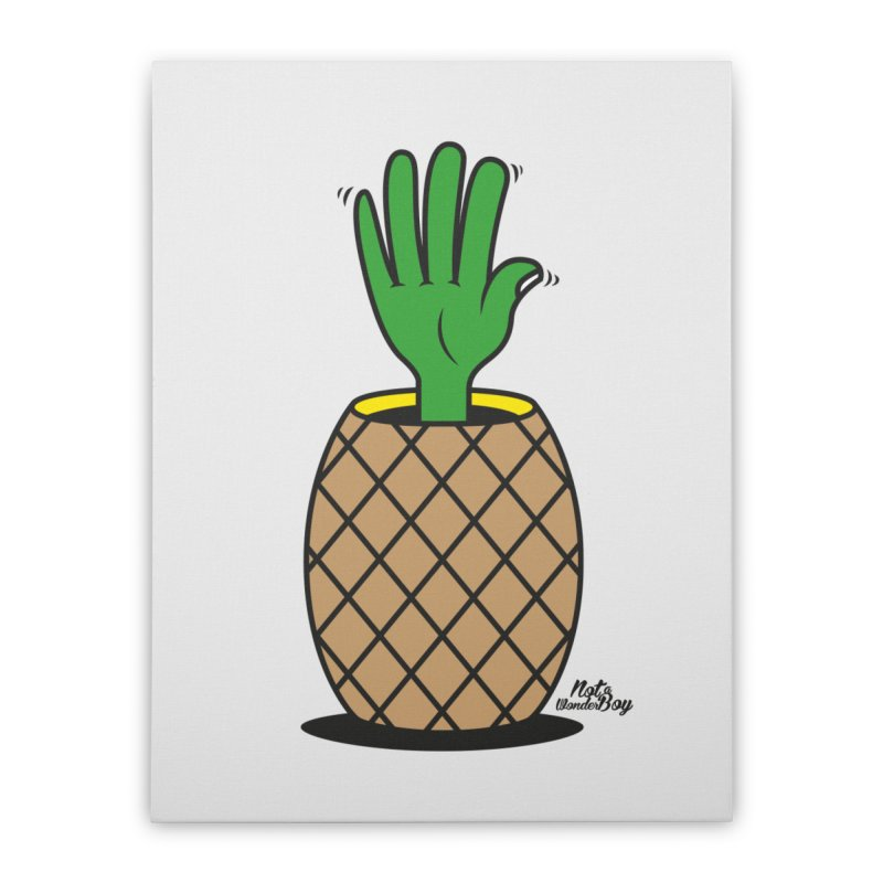ANANAS Home Stretched Canvas by Notawonderboy!