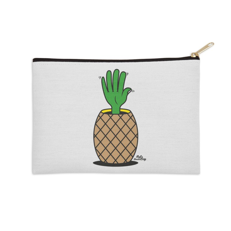 ANANAS Accessories Zip Pouch by Notawonderboy!