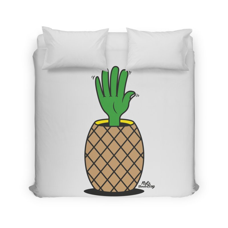 ANANAS Home Duvet by Notawonderboy!