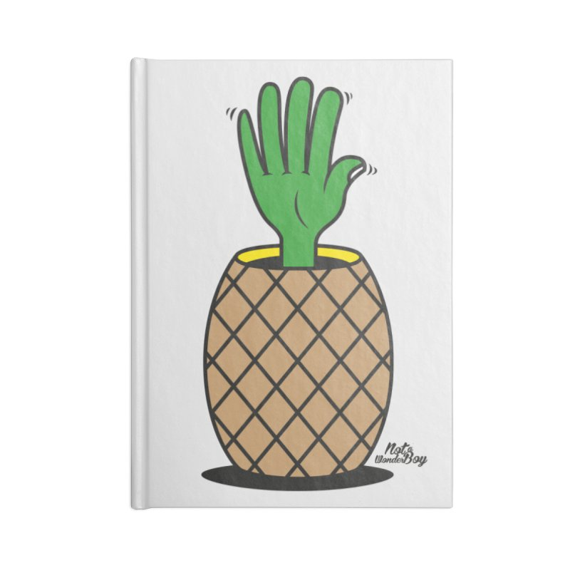ANANAS Accessories Notebook by Notawonderboy!