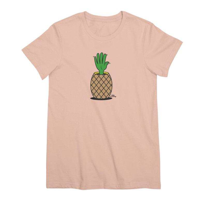 ANANAS Women's Premium T-Shirt by Notawonderboy!