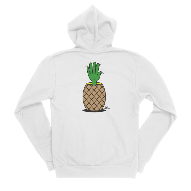 ANANAS Women's Sponge Fleece Zip-Up Hoody by Notawonderboy!