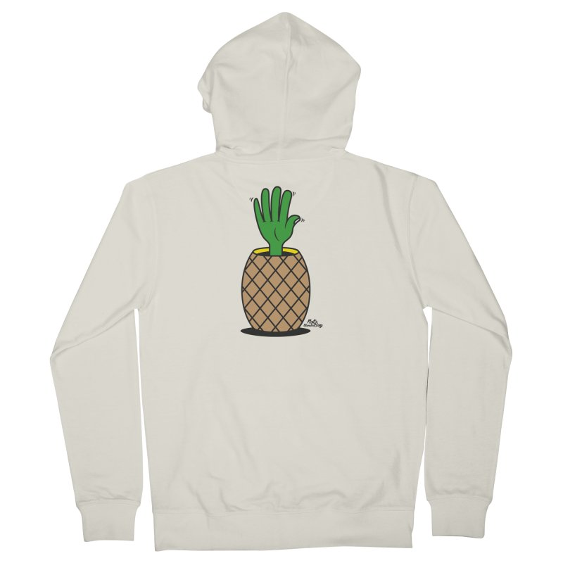 ANANAS Men's Zip-Up Hoody by Notawonderboy!