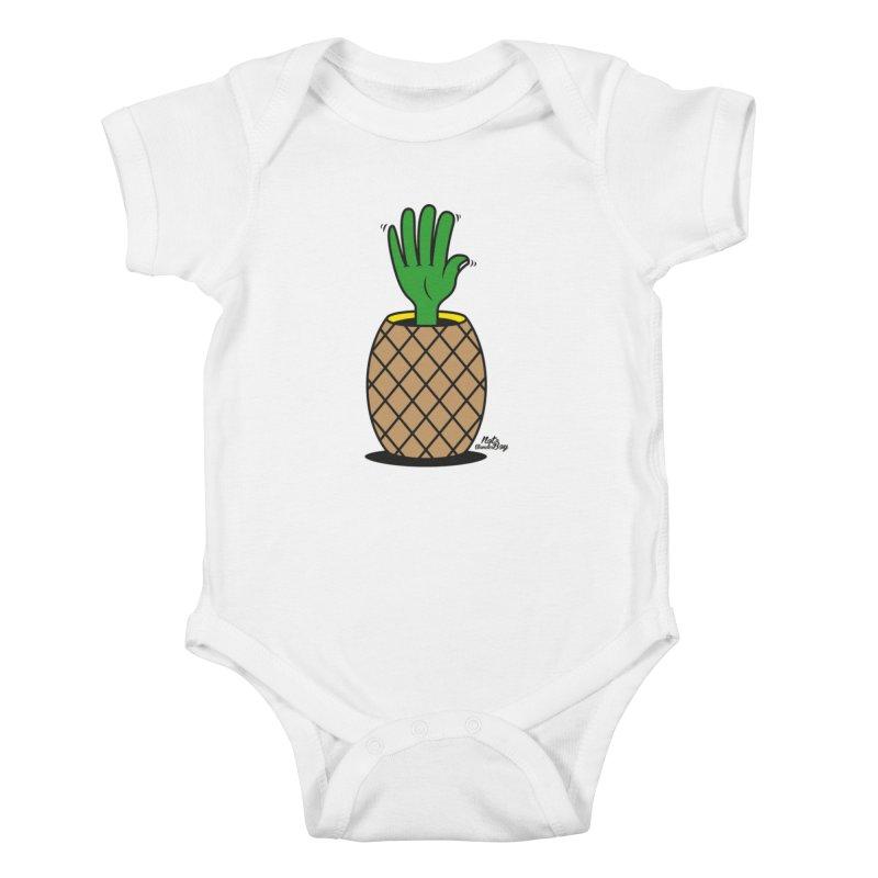 ANANAS Kids Baby Bodysuit by Notawonderboy!