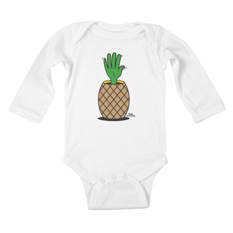 ANANAS Kids Baby Longsleeve Bodysuit by Notawonderboy!