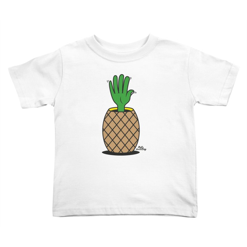 ANANAS Kids Toddler T-Shirt by Notawonderboy!