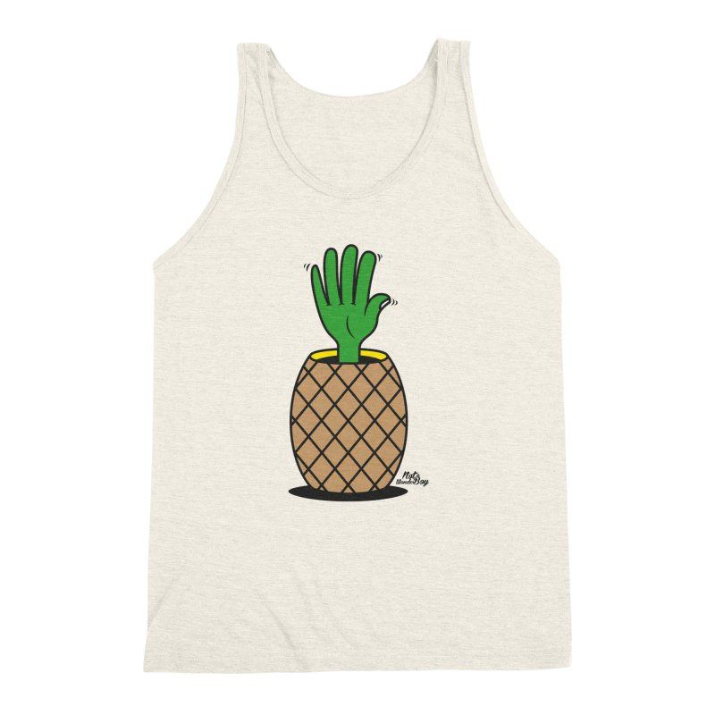 ANANAS Men's Triblend Tank by Notawonderboy!