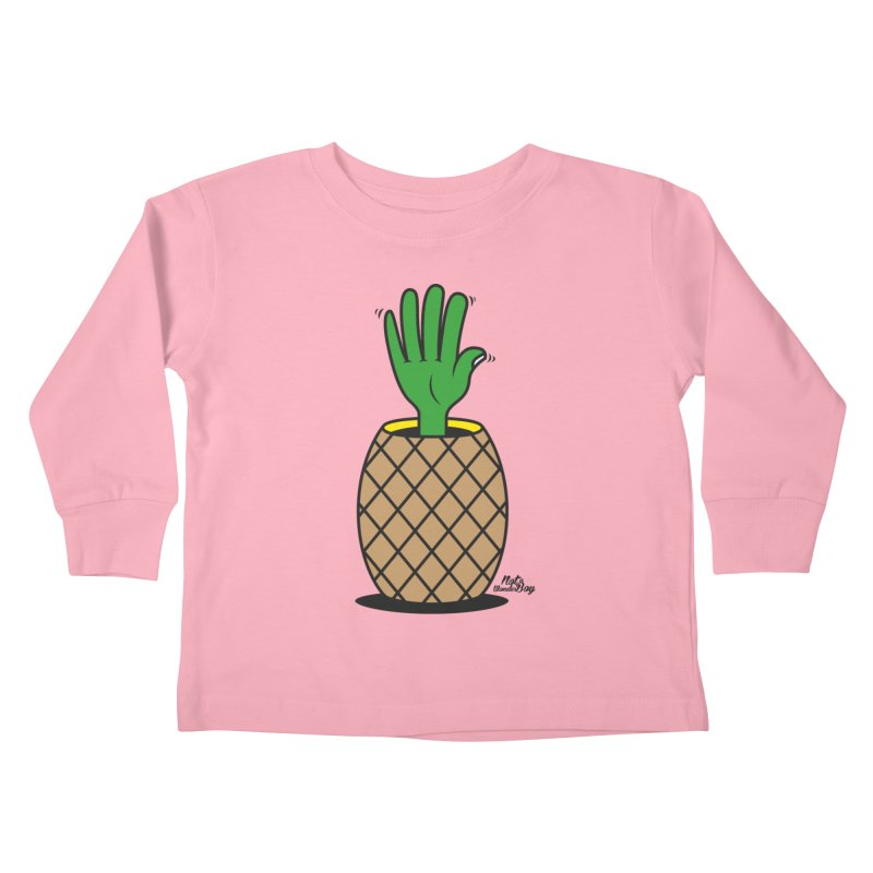 ANANAS Kids Toddler Longsleeve T-Shirt by Notawonderboy!