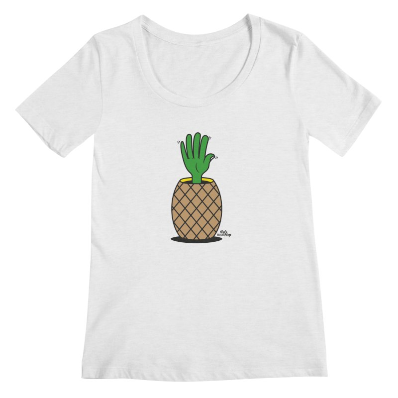 ANANAS Women's Regular Scoop Neck by Notawonderboy!