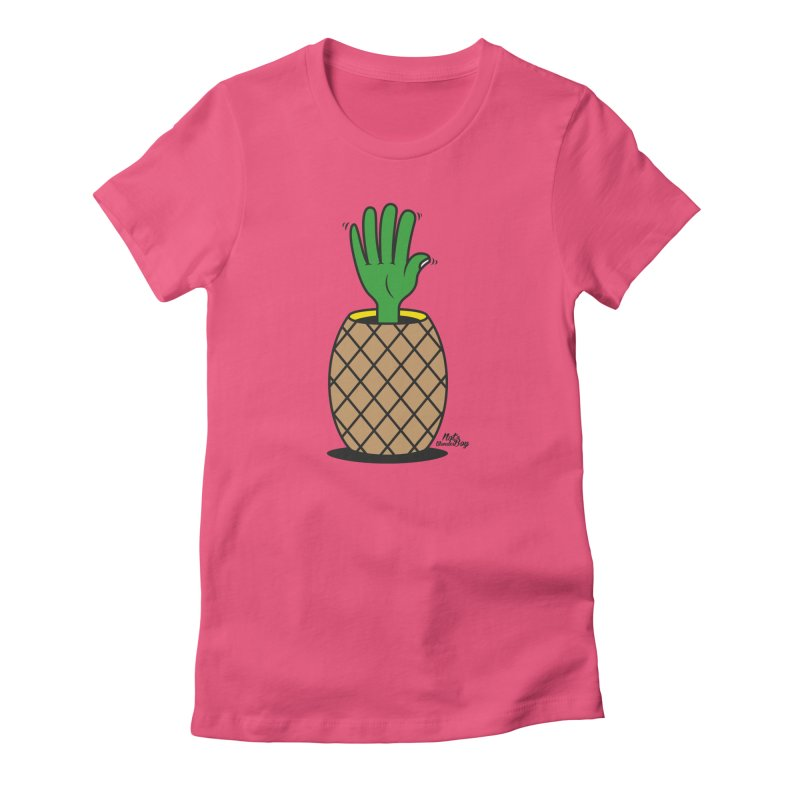 ANANAS Women's Fitted T-Shirt by Notawonderboy!