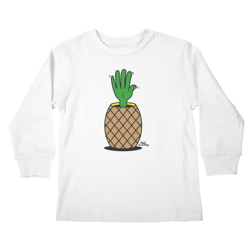 ANANAS Kids Longsleeve T-Shirt by Notawonderboy!