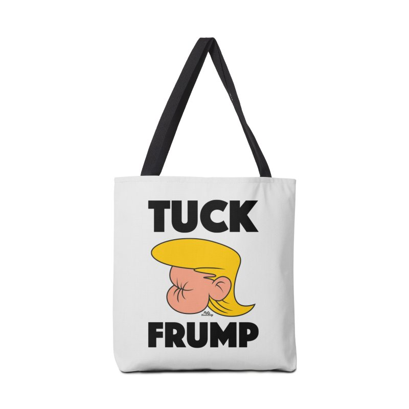 TUCK FRUMP LETTERING Accessories Bag by Notawonderboy!