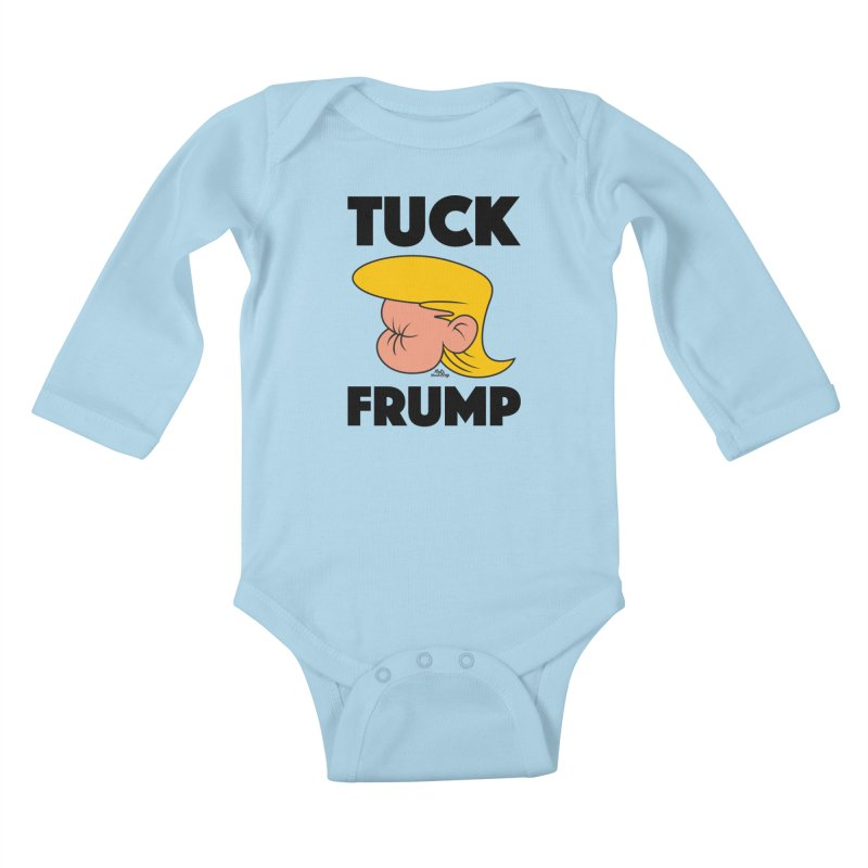 TUCK FRUMP LETTERING Kids Baby Longsleeve Bodysuit by Notawonderboy!