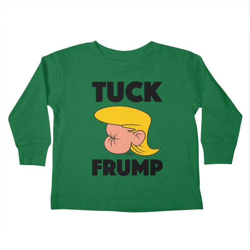 TUCK FRUMP LETTERING Kids Toddler Longsleeve T-Shirt by Notawonderboy!