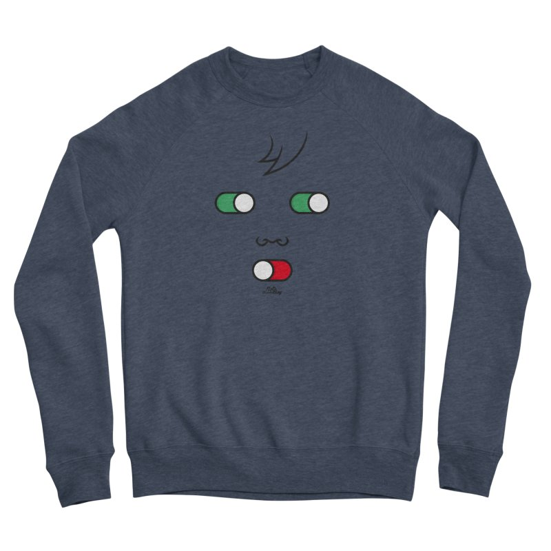 WATCH OUT AND SHUT YOUR MOUTH Men's Sponge Fleece Sweatshirt by Notawonderboy!