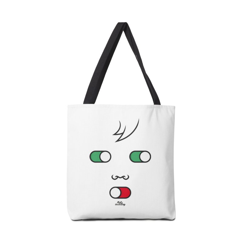 WATCH OUT AND SHUT YOUR MOUTH Accessories Bag by Notawonderboy!