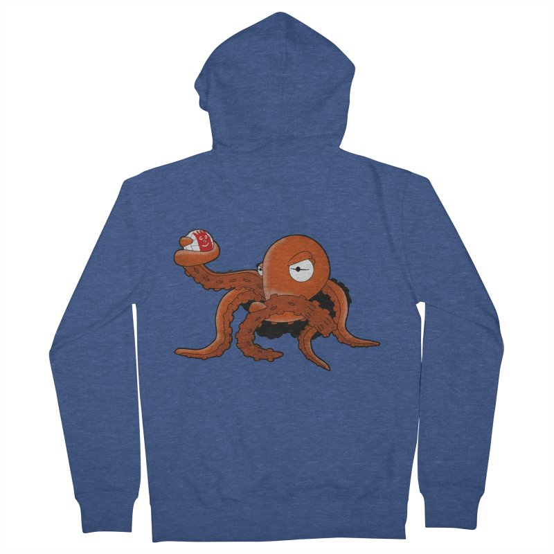 Octopus Wilson Men's Zip-Up Hoody by notblinking's Artist Shop