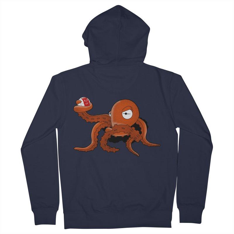 Octopus Wilson Men's Zip-Up Hoody by notblinking's Artist Shop