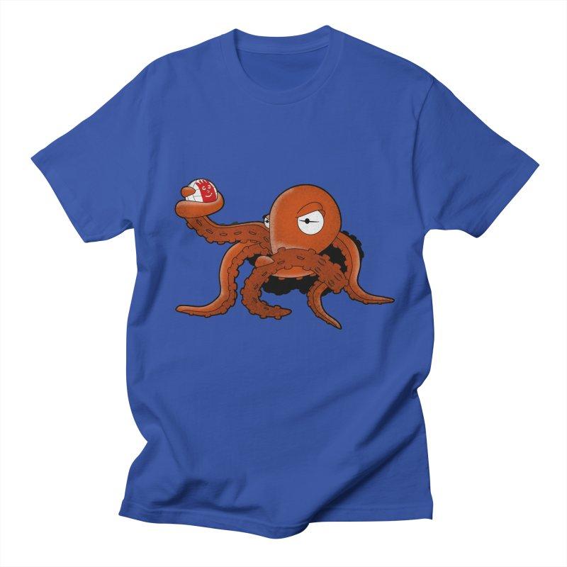 Octopus Wilson Men's T-shirt by notblinking's Artist Shop