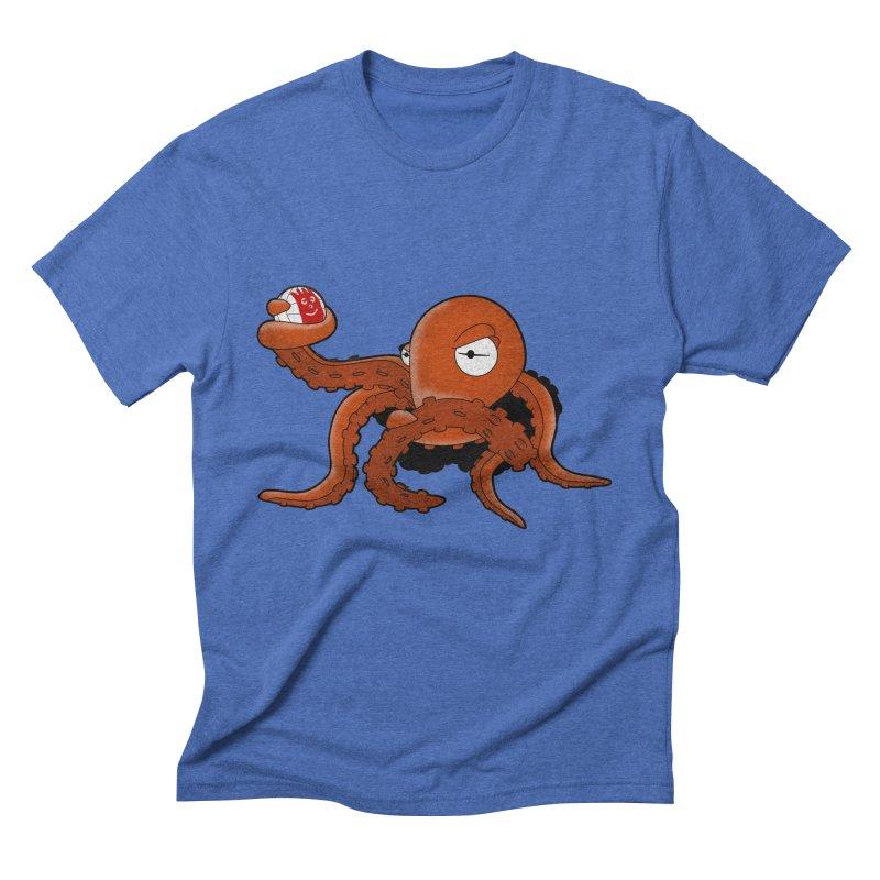 Octopus Wilson Men's Triblend T-Shirt by notblinking's Artist Shop