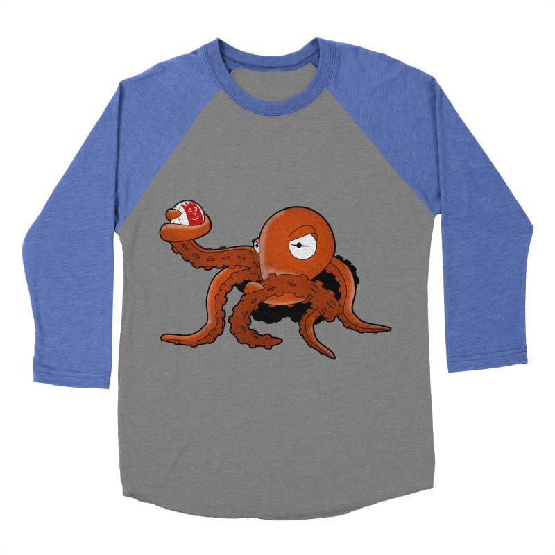Octopus Wilson Women's Baseball Triblend T-Shirt by notblinking's Artist Shop