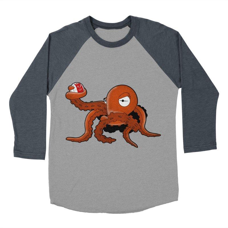 Octopus Wilson Women's Baseball Triblend T-Shirt by notblinking's Artist Shop