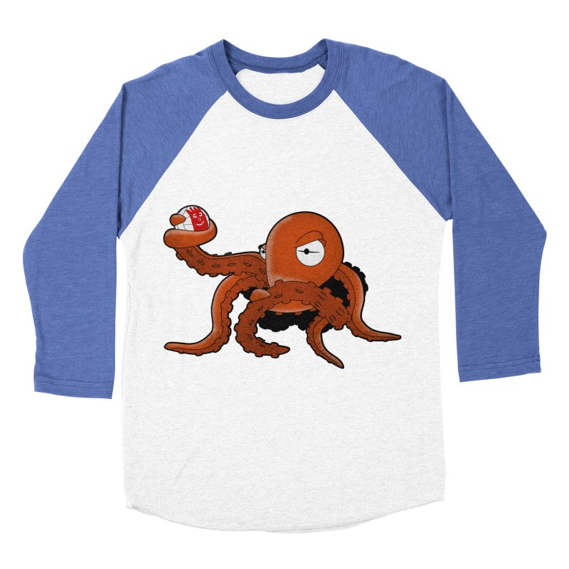 Octopus Wilson Men's Baseball Triblend T-Shirt by notblinking's Artist Shop