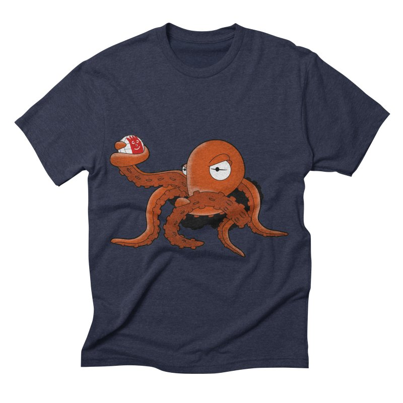 Octopus Wilson Men's Triblend T-shirt by notblinking's Artist Shop