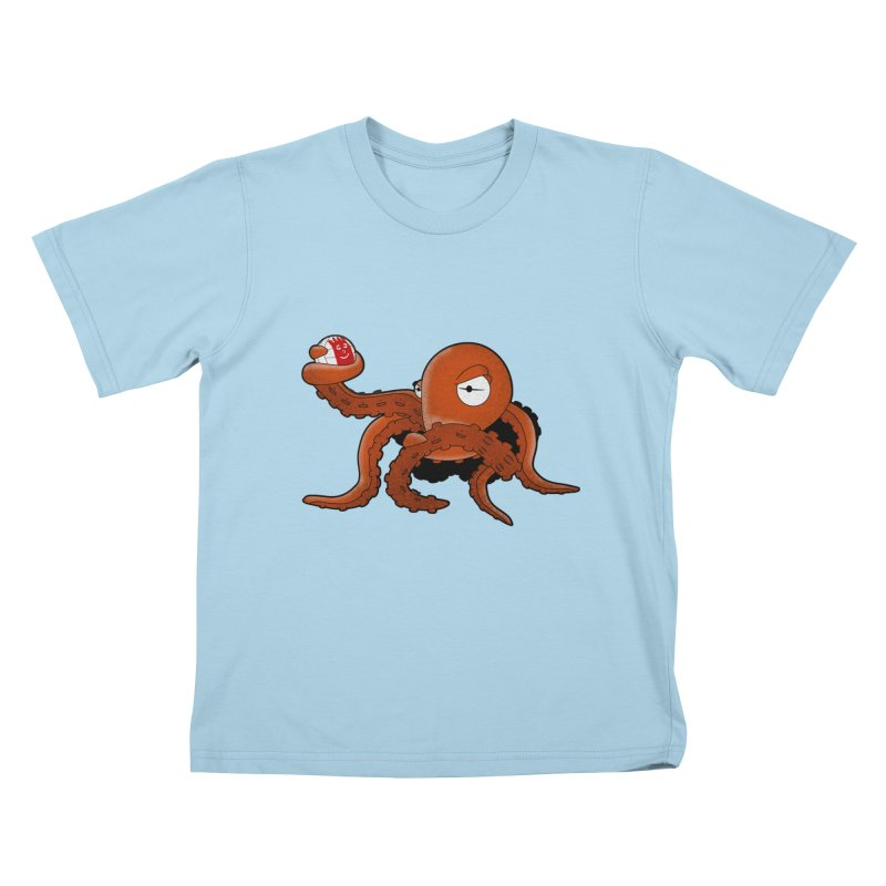 Octopus Wilson Kids T-shirt by notblinking's Artist Shop