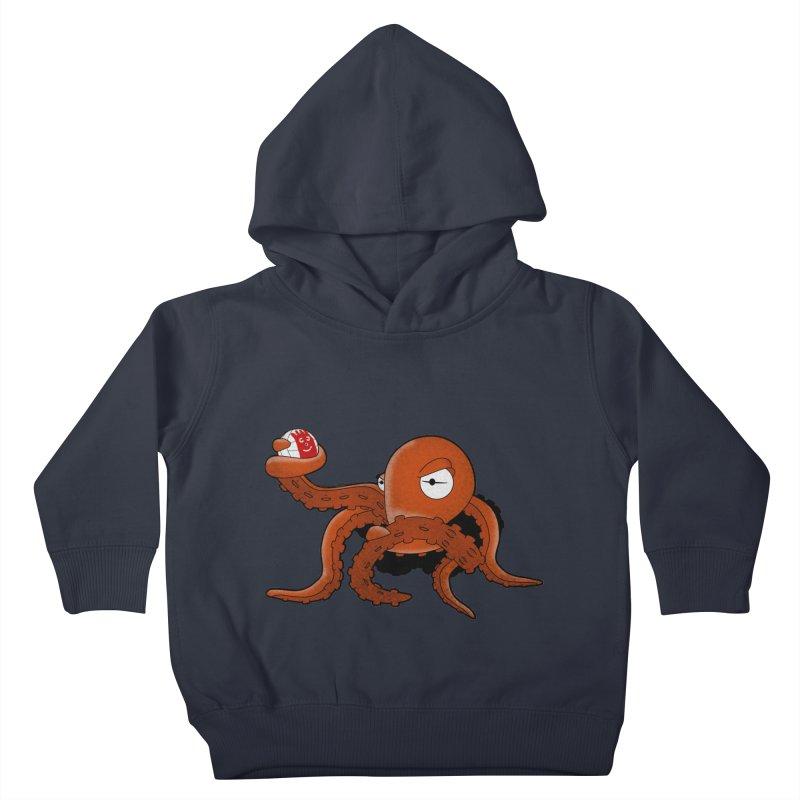 Octopus Wilson Kids Toddler Pullover Hoody by notblinking's Artist Shop