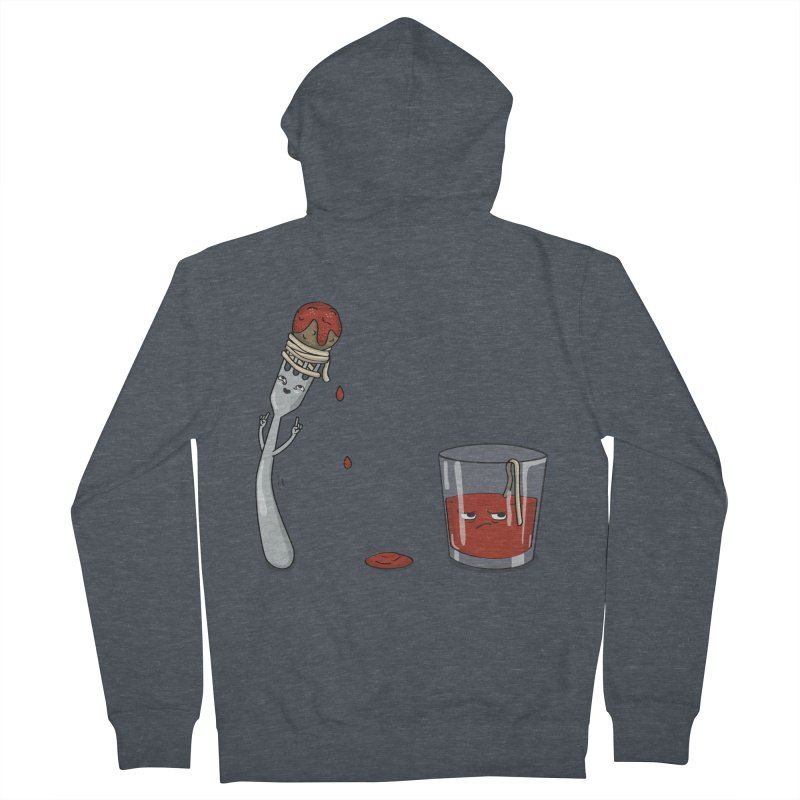 Food Buddies Men's Zip-Up Hoody by notblinking's Artist Shop