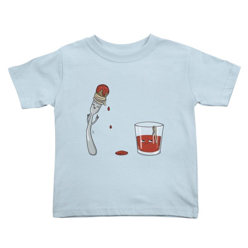 Food Buddies Kids Toddler T-Shirt by notblinking's Artist Shop