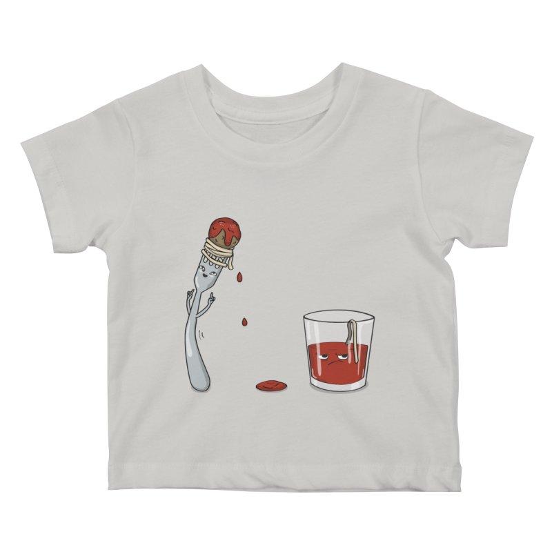 Food Buddies Kids Baby T-Shirt by notblinking's Artist Shop