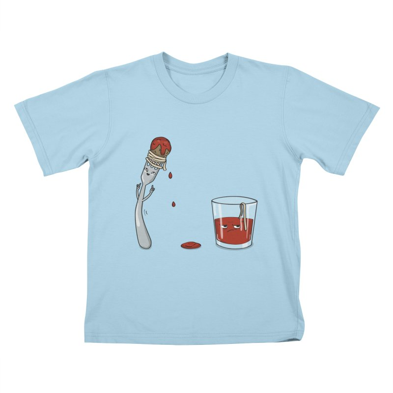 Food Buddies Kids T-shirt by notblinking's Artist Shop