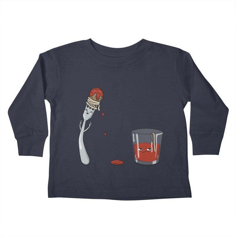 Food Buddies Kids Toddler Longsleeve T-Shirt by notblinking's Artist Shop