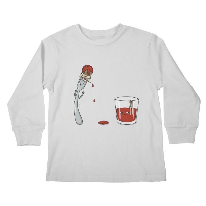 Food Buddies Kids Longsleeve T-Shirt by notblinking's Artist Shop