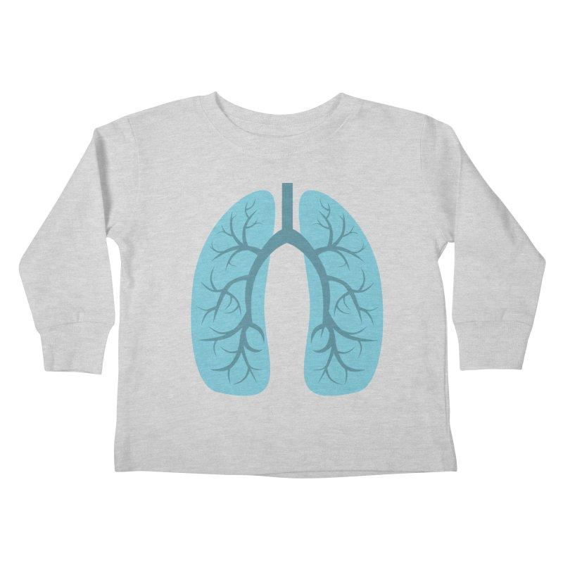 Breathe Kids Toddler Longsleeve T-Shirt by notblinking's Artist Shop