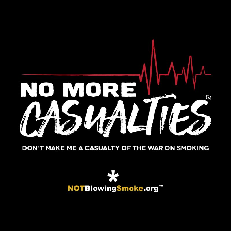 No More Casualties Women's Fitted T-Shirt by NOTBlowingSmoke's Shop