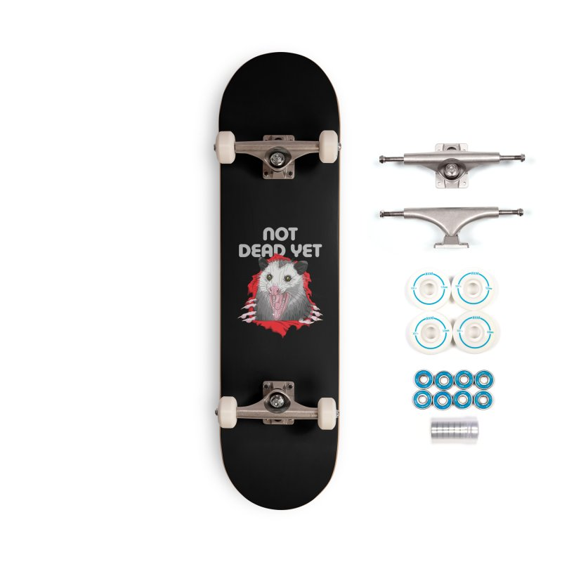 Not Dead Yet Skateboard Accessories Complete - Basic Skateboard by Not Dead Yet Merch