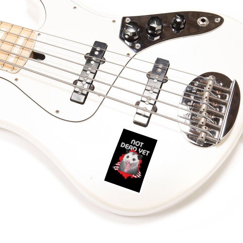 Ripper 'Possum Accessories Sticker by Not Dead Yet Merch