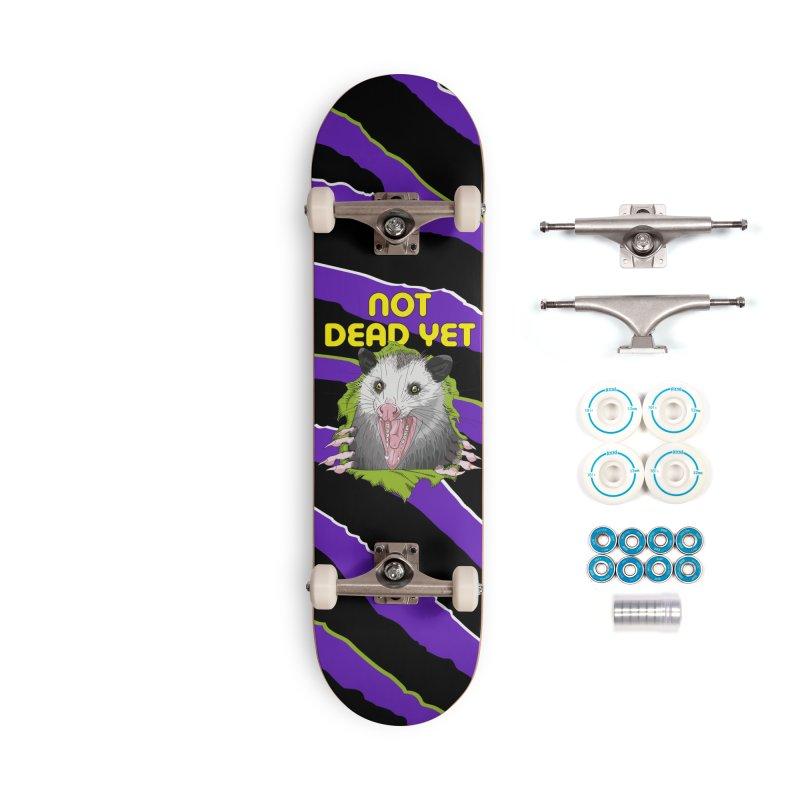 Zebra Ripper 'Possum Accessories Skateboard by Not Dead Yet Merch