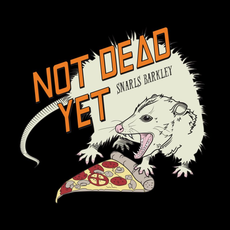 Snarls Barkley Pizza Protec Accessories Bag by Not Dead Yet Merch