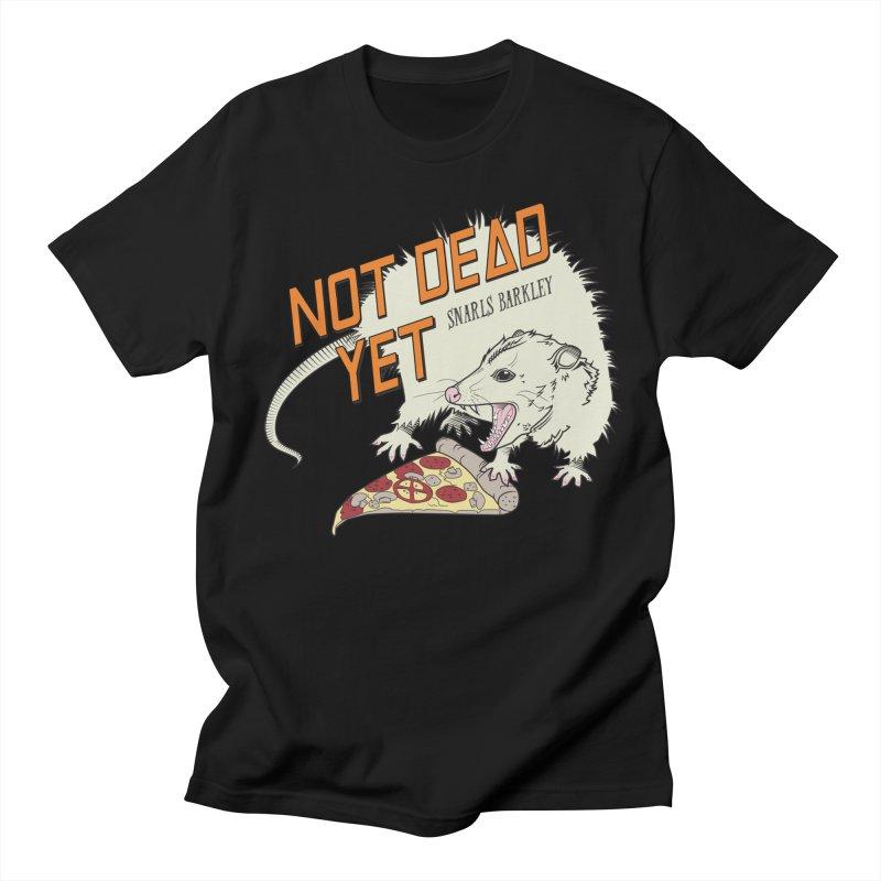 Snarls Barkley Pizza Protec Men's Regular T-Shirt by Not Dead Yet Merch