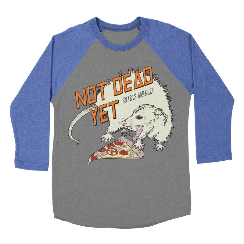 Snarls Barkley Pizza Protec Women's Baseball Triblend Longsleeve T-Shirt by Not Dead Yet Merch