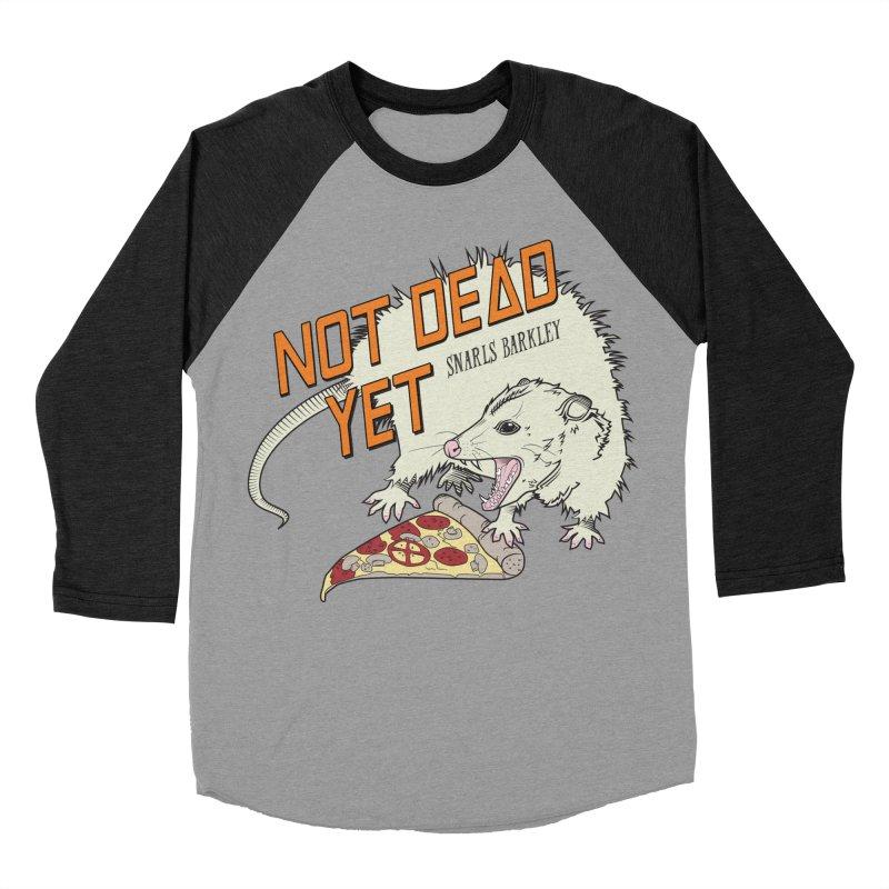 Snarls Barkley Pizza Protec Men's Baseball Triblend Longsleeve T-Shirt by Not Dead Yet Merch