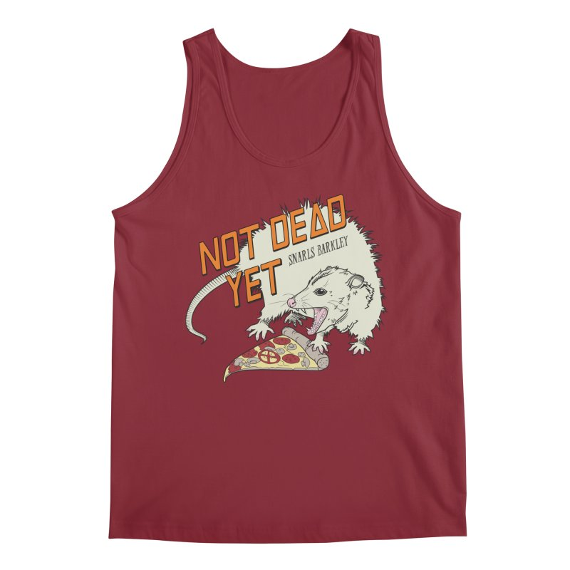 Snarls Barkley Pizza Protec Men's Regular Tank by Not Dead Yet Merch