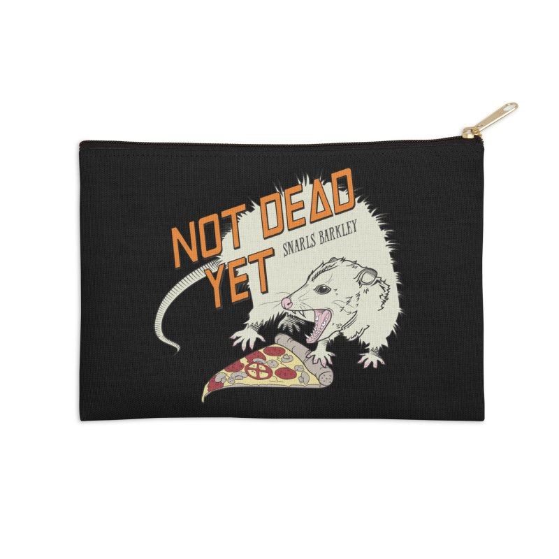 Snarls Barkley Pizza Protec Accessories Zip Pouch by Not Dead Yet Merch