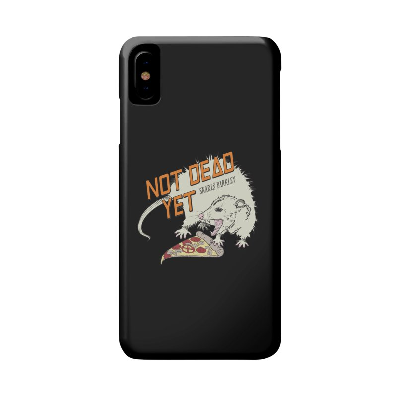 Snarls Barkley Pizza Protec Accessories Phone Case by Not Dead Yet Merch