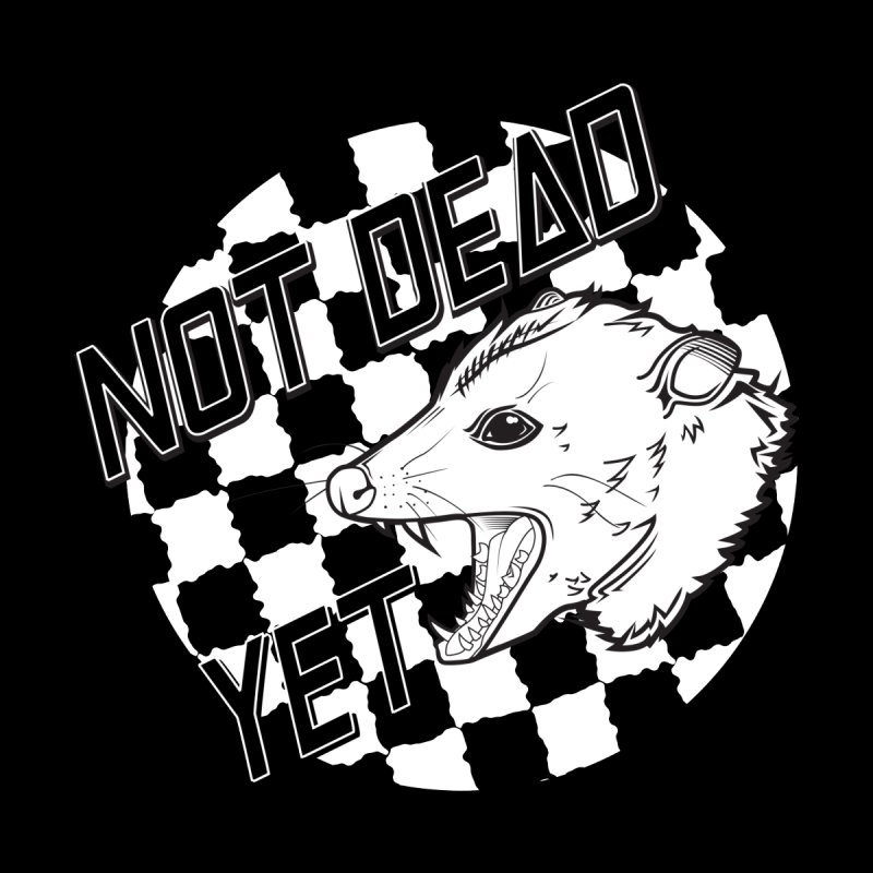 Snarls Barkley Monochrome Logo by Not Dead Yet Merch